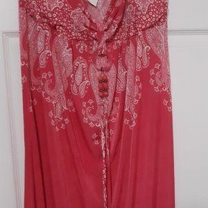 Dresses & Skirts - Women Strapless Maxi Dress